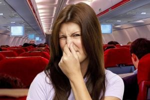 Smelly airline passengers from hell