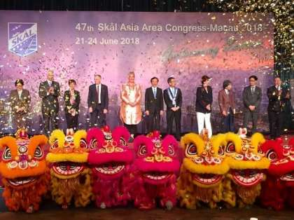 47th SKAL Asia Congress opens with a bang in Macau