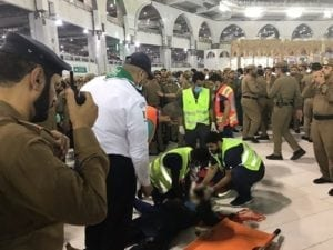 Foreign visitor jumps off top of Mecca's Grand Mosque in apparent suicide