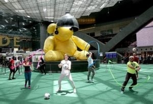 Hamad International Airport launches Fan Zone to celebrate 2018 FIFA World Cup