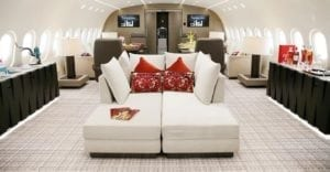Private jet users want frequent flyer points, too