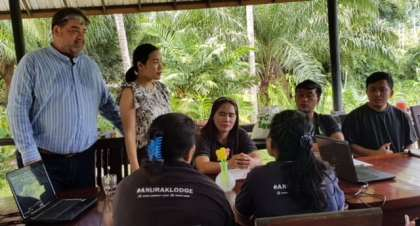 Tourism lecturers organize Spirit of Hospitality training workshop in Southern Thailand