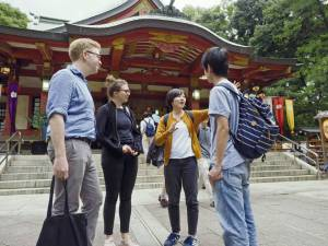 Tourists and Language problem in Tokyo: No more !