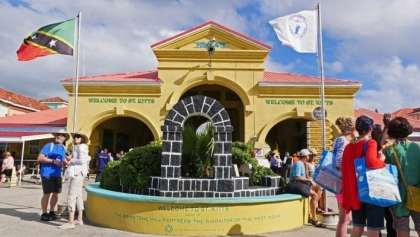 St. Kitts cruise passenger arrivals exceed 1 million for the first time