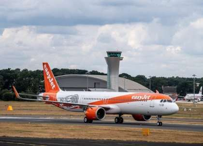 EasyJet takes delivery of its first Airbus A321neo jet