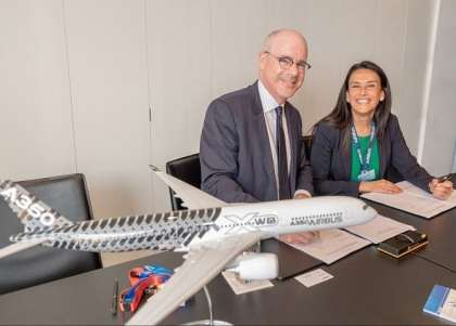 The National Research Council of Canada and Airbus renew R&T cooperation agreement