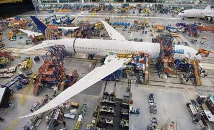 Global aerospace industry worth $838 billion