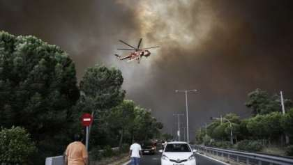 Need Help! Tourists and locals fleeing for their lives in Greece