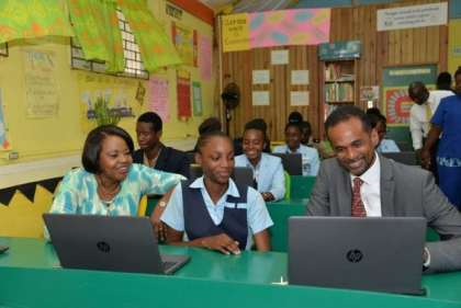 Jamaica Tourism rewards students with $J2.5M in computer equipment