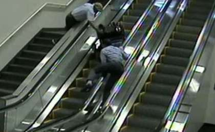 Disabled airline passenger tumbles down escalator: Is Alaska Airlines liable?