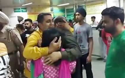 Speeding train runs over crowd at India festival: At least 58 dead