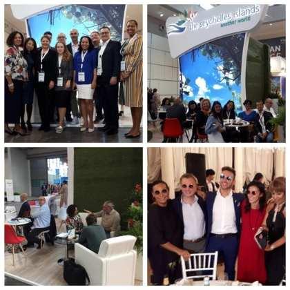 Seychelles gains more visibility at TTG Travel Experience Trade Fair, Rimini, Italy