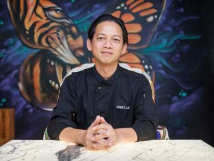 M Social Singapore:Louis Tan Head Chef of Beast & Butterflies