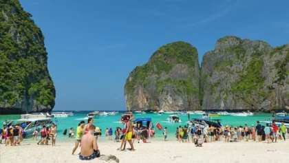Maya Beach a Victim of Overtourism: TAT promotes Stunning views of the Bay