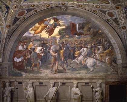 The Vatican Museum unveils Raffaello's Rooms