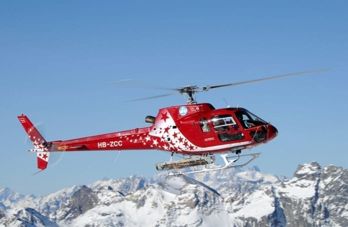 Hertz Switzerland and Air Zermatt launch sightseeing helicopter tours