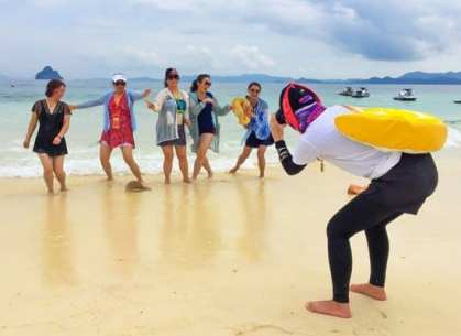 "Elevating ""island experience"" among Chinese tourists"