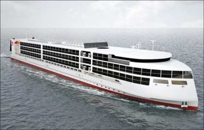 First cruise ship built in Russia in over 60 years will be ready for trials next year