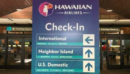 Hawaiian Airlines ups the fee for checked baggage