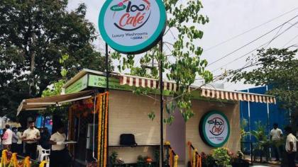 LooCafe: Free luxury washrooms to aid India's sanitation program