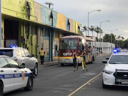 76-year-old man killed in tour trolley accident in Honolulu