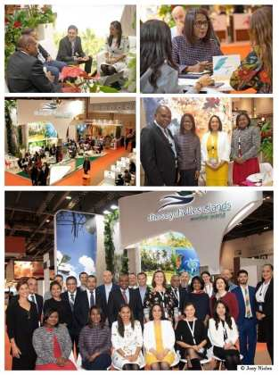 Strong Seychelles delegation attends World Travel Market in London led by Minister Dogley