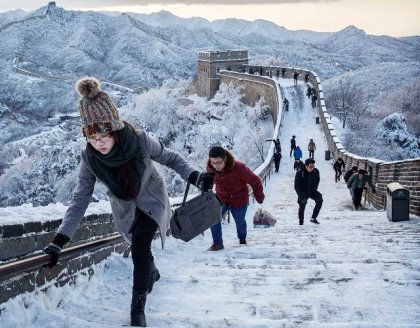 197 million visits: Winter tourism booming in China