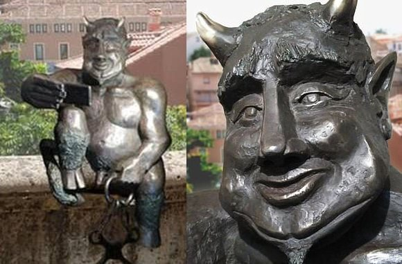 "Segovia residents don't want tourists taking selfies with ""jovial"" Satan"