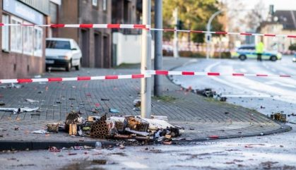 Four people injured in New Year's Eve car-ramming attack in Germany