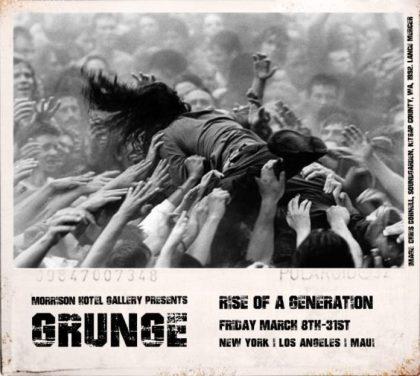 From Kurt Cobain to Soundgarden: Morrison Hotel Gallery kicks off Grunge Month