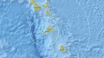 Strong 6.3 earthquake strikes Vanuatu, no tsunami warning so far