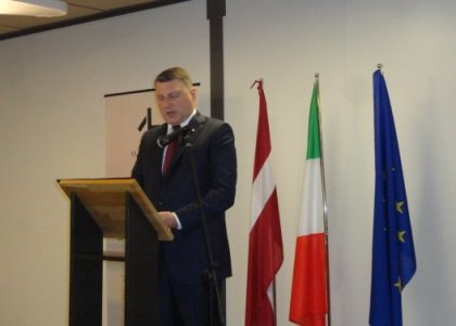 """3rd edition of the """"Days of Latvia"""" opens in Italy"""