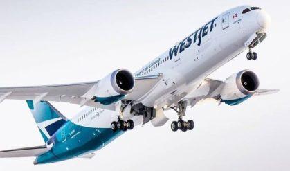 WestJet lands in Portland, Oregon