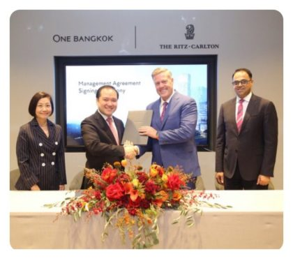 Marriott to Open Ritz Carlton Bangkok
