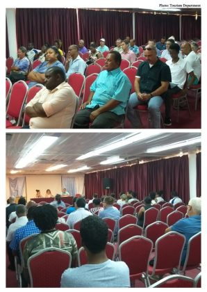 Boat Charter Policy private stakeholder consultative meeting