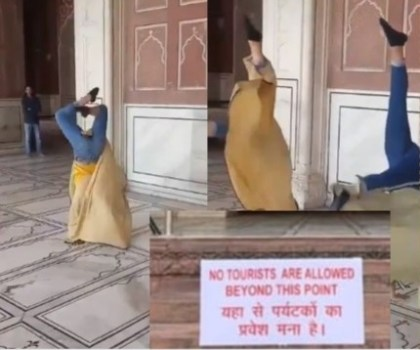 Famous Delhi holy site bans tourists after 'vulgar' dancing video goes viral