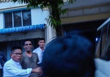 Myanmar Tourism Police arrests accused Sri Lanka Terror Suspect