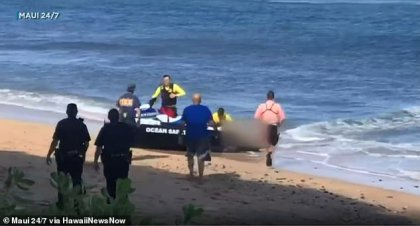 Kaanapali Beach in Maui compared with other dangerous