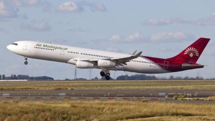 Air Madagascar renews flights to Johannesburg
