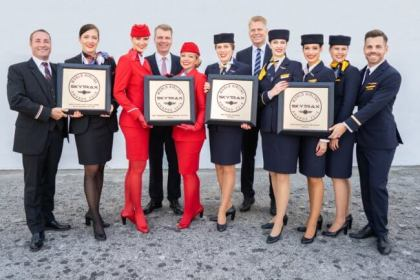 Lufthansa Group airlines win four Airline Oscars