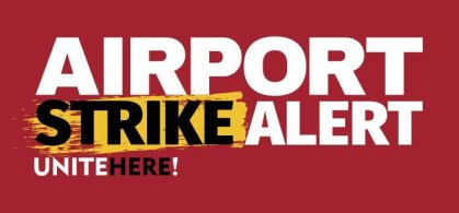 Thousands of American, Delta and United Airlines catering workers authorize airport strike