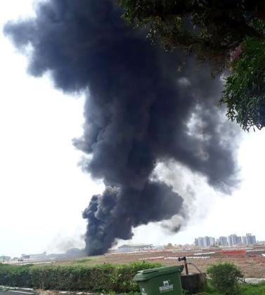 Fire started by Indian fighter jet shuts down Goa International Airport