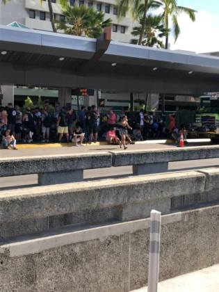 United Airlines staff heroes after active shooter scare at Honolulu International Airport