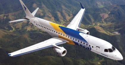 Embraer and United Airlines new contract is signed