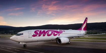 Kelowna to Las Vegas: Now non-stop on Swoop