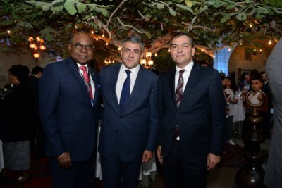 Jamaica Tourism Minister attends UNWTO Executive Council Welcome Reception