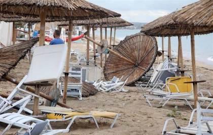Strong storm hits northern Greece, killing six, injuring dozens