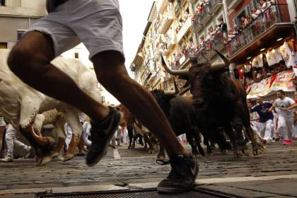Mess with the bull… 7 people injured in Pamplona bull run