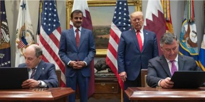 The White House, Boeing, Qatar Airways, Iran Conspiracy explains why Trump loves the Amir of Qatar