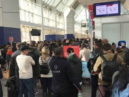 Customs and Border protection systems shut down paralyzes US airports